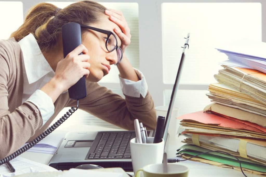 tipos de estres laboral