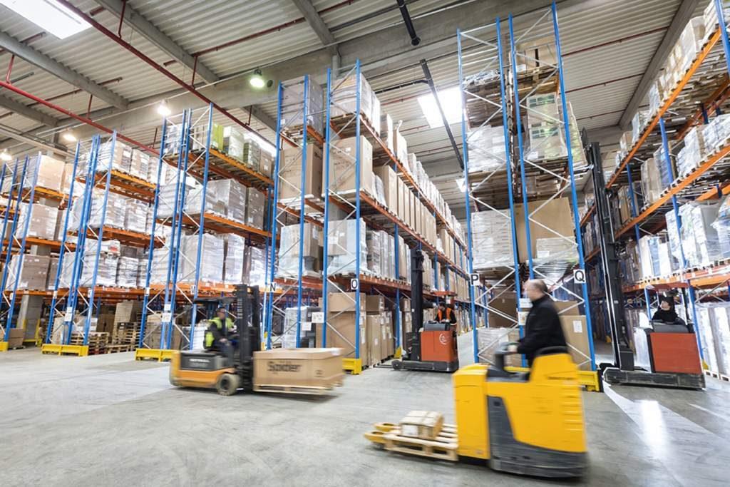 logística de almacenamiento