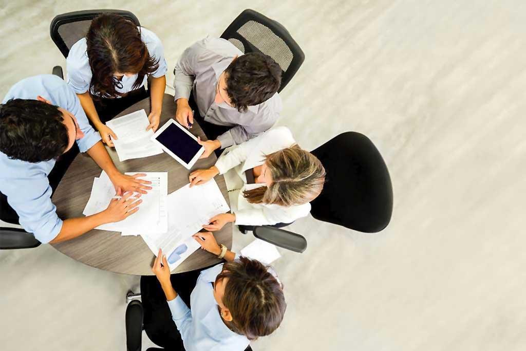 Dinámicas de trabajo en grupo