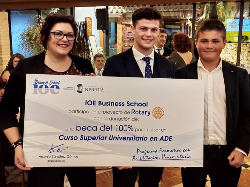 Ganador Premio Gala Rotary Club Murcia