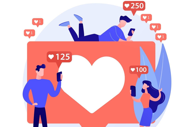 interaccion en redes sociales